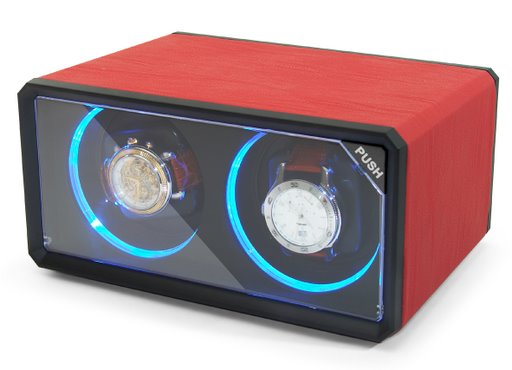 Lenzburg™ Dual Mini Watch Winder